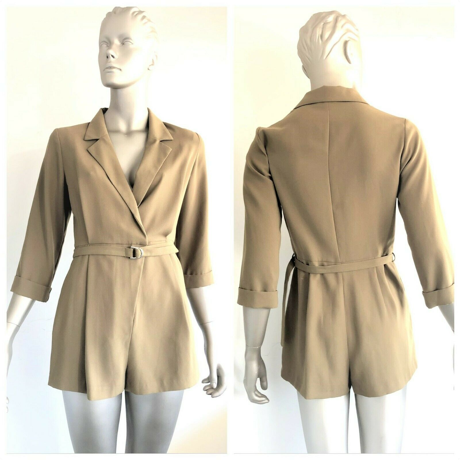 TOPSHOP Women Jumpsuits, Rompers & Playsuits Military Green Size 10UK (M) BNWT