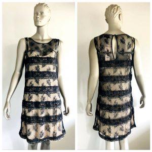 """FLEUR WOOD Womens """"Highness Dress"""" Sequin Detail Sleeveless Dress Size 4 BNWT"""